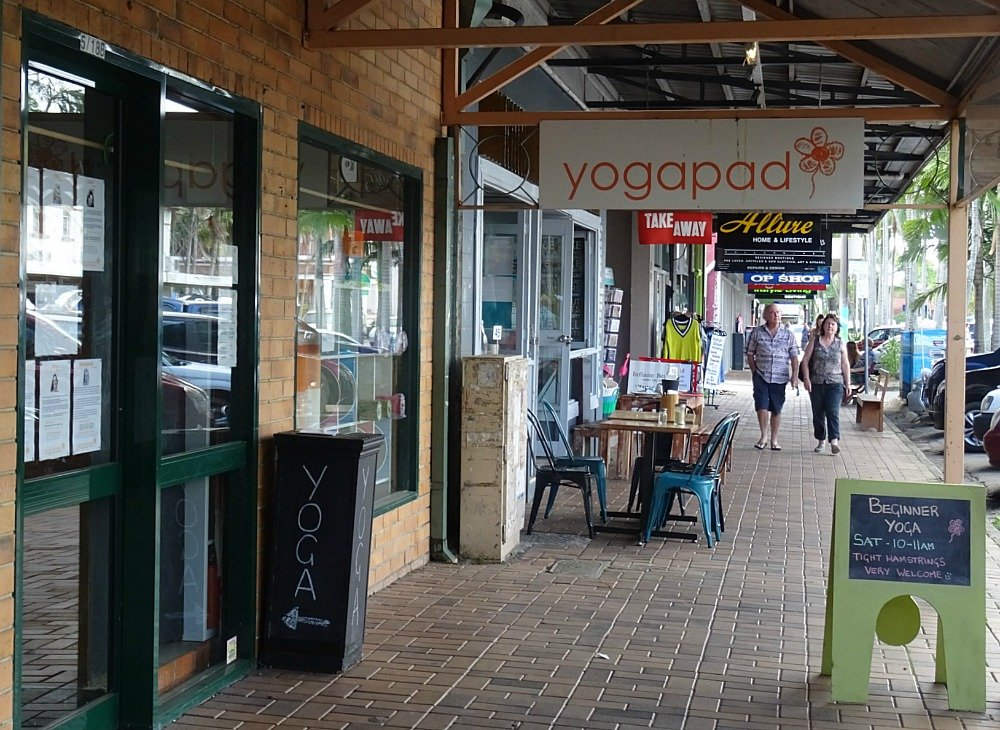 The town of Mullum in Rainbow Country loves Yoga