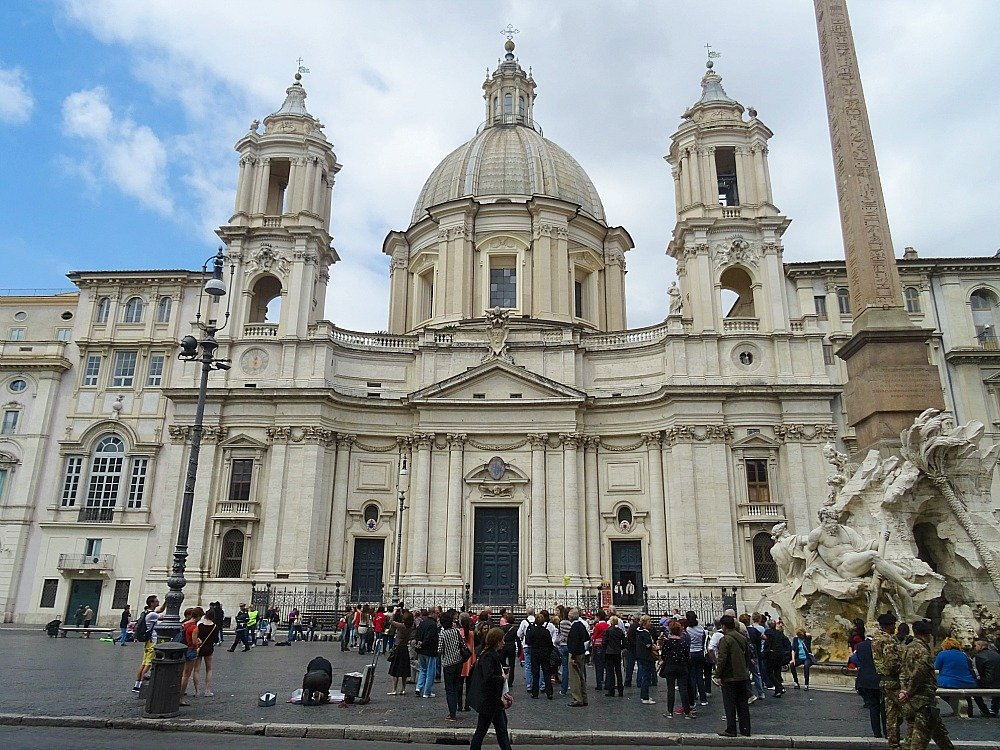 Piazza Navona Rome Sant'Agnese in Agone