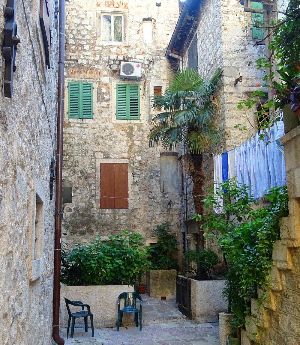 A quiet corner at Kotor