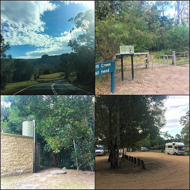 Belli Creek Free Camp Sunshine Coast of Queensland near the Bruce Highway