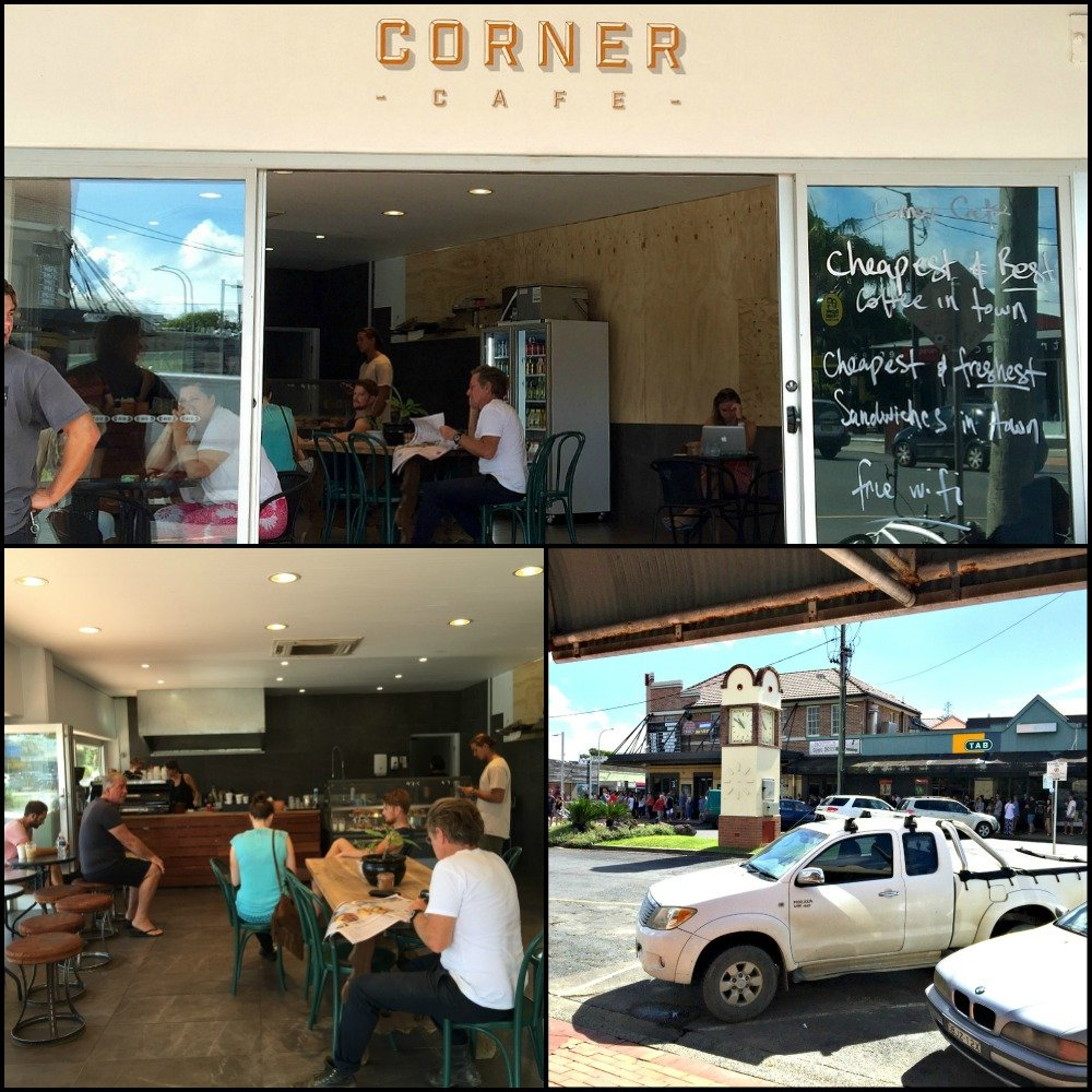 Corner Cafe Byron Bay