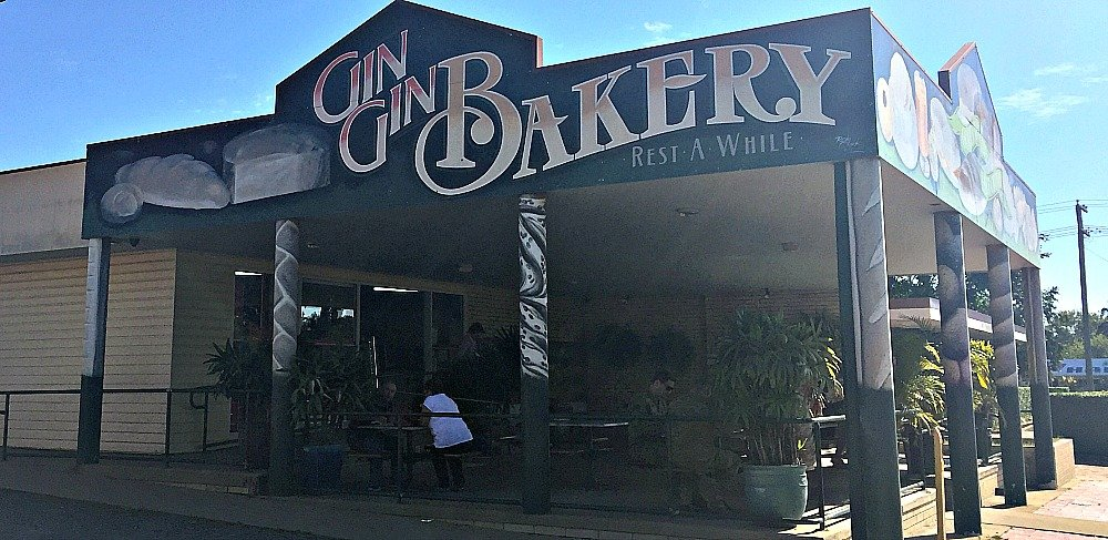 Gin Gin Bakery has the best pies in Queensland