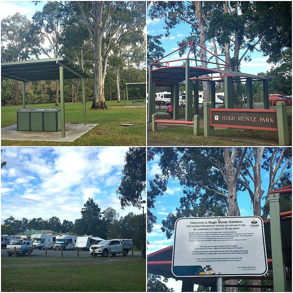 Hugh Muntz Free Camping Beenleigh near Brisbane