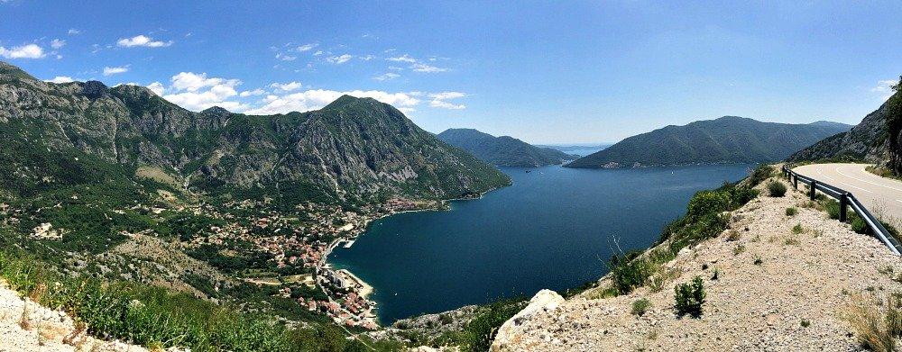 Montenegro Bay of Kotor Panorama