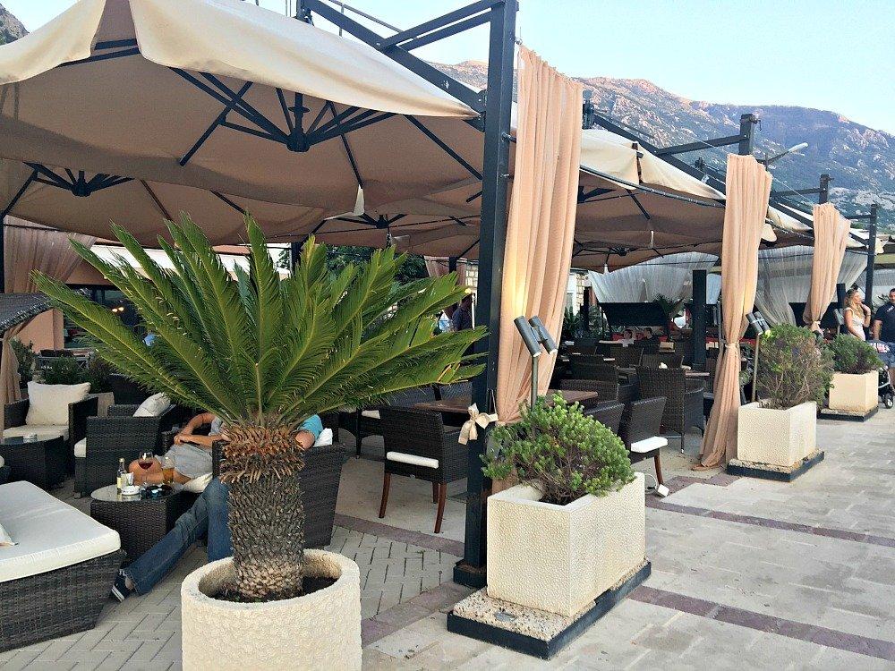 Montenegro Kotor Waterfront Restaurants