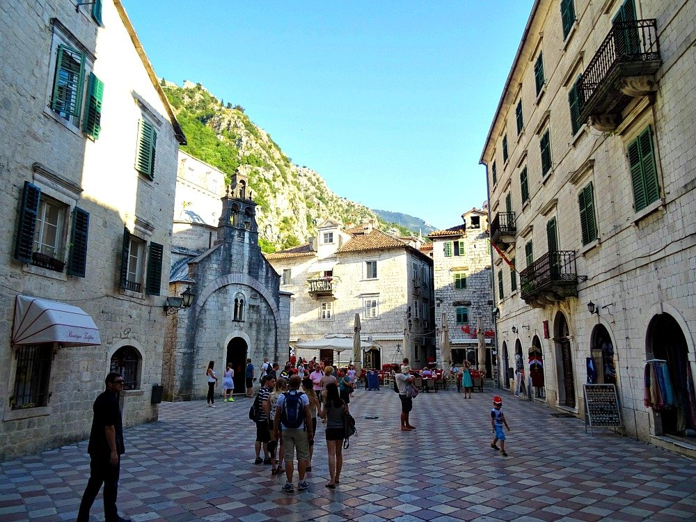 Kotor St. Luke's Church and Square
