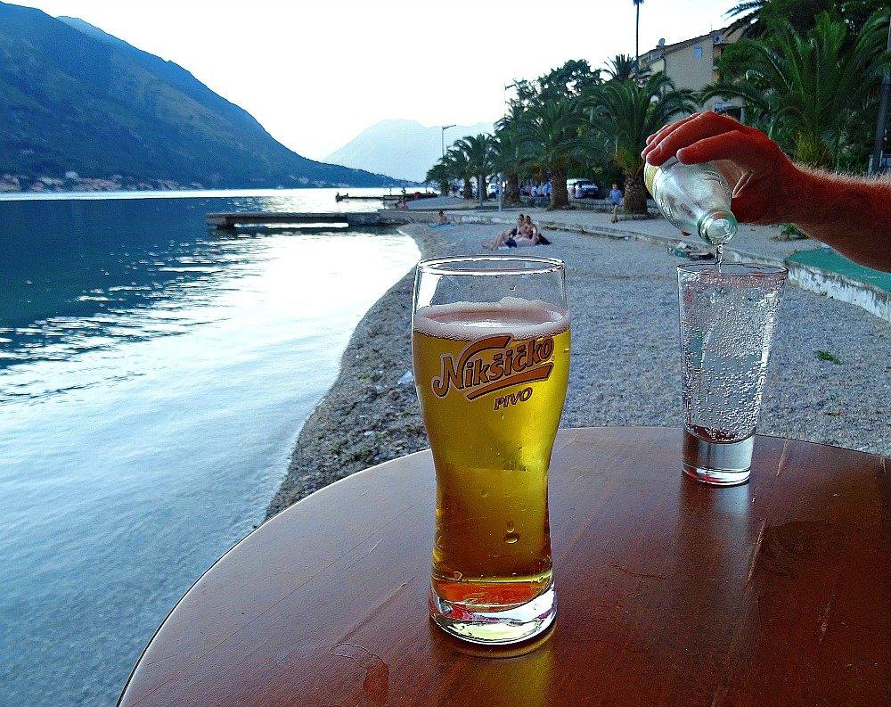 Montenegro Waterfront Drinks
