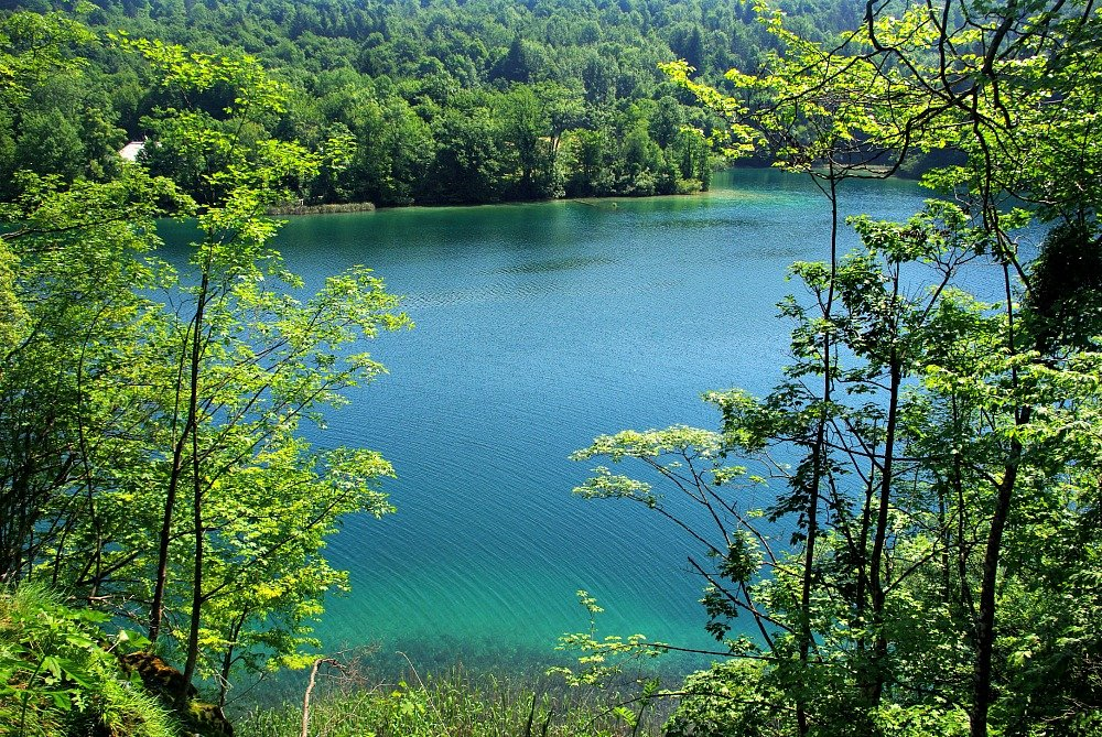 Plitvice Lakes Blues and Greens