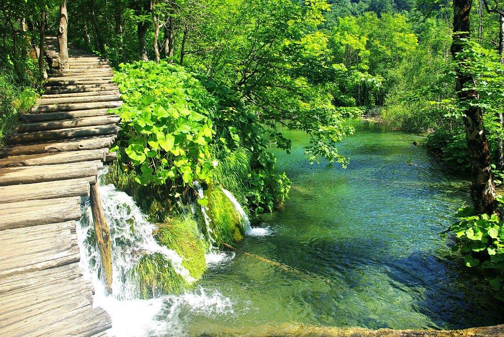 Plitvice Lakes Climbing Walkways