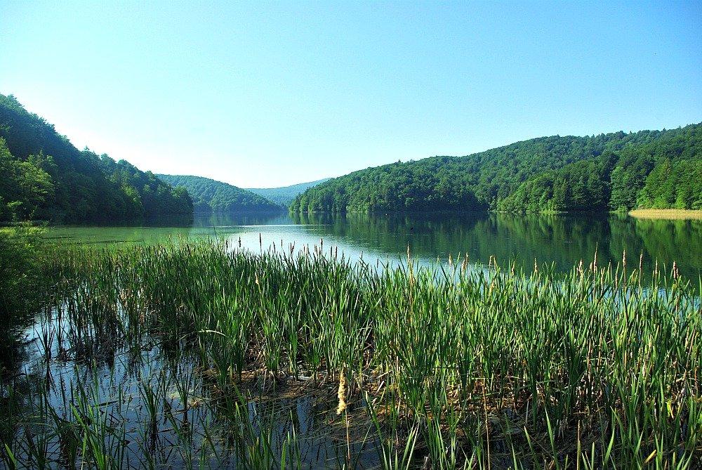 Plitvice Lakes Start of H Trail