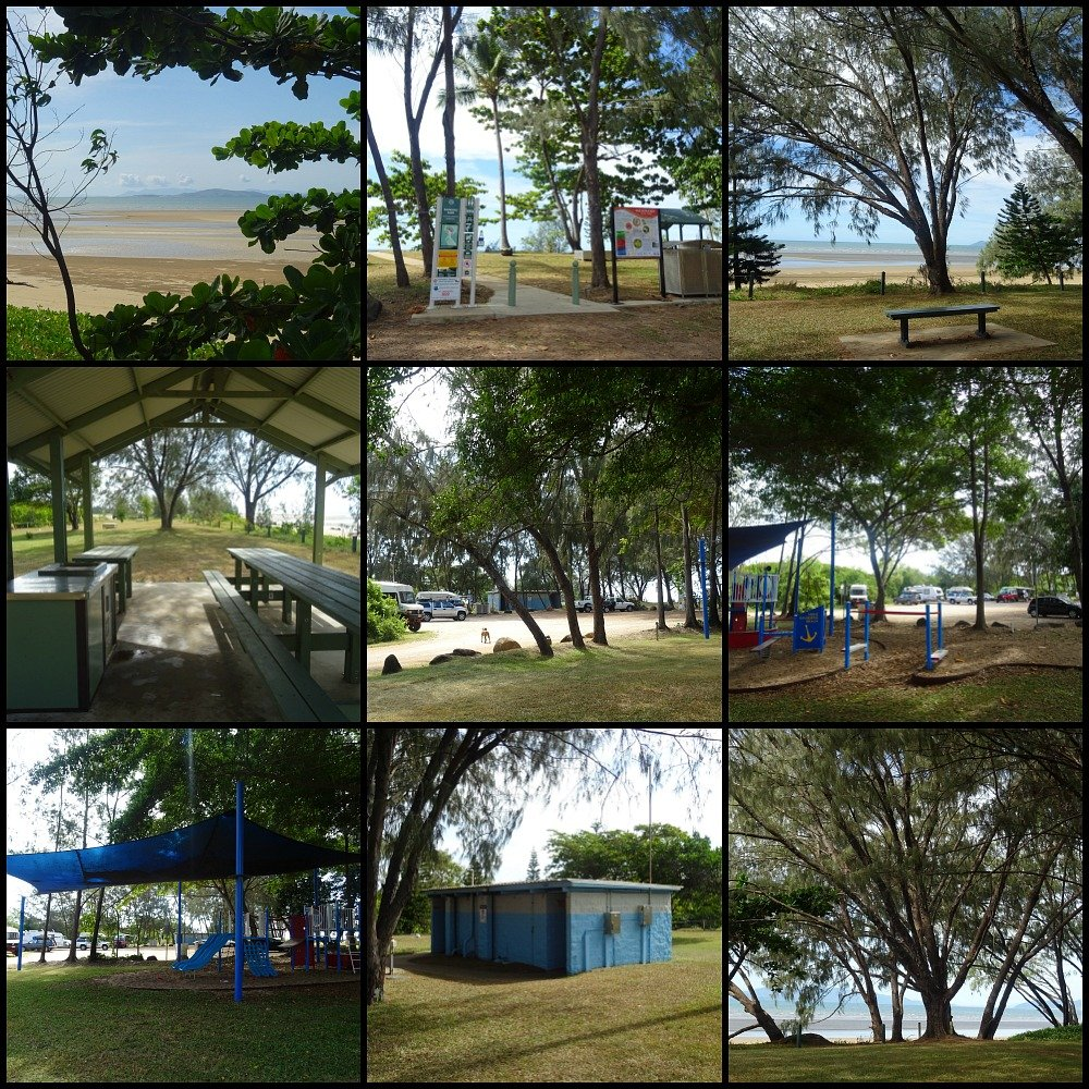 Saunders Beach Free Camp north of Townsville Queensland