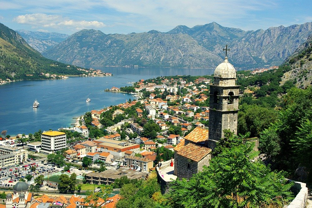 View from above Kotor
