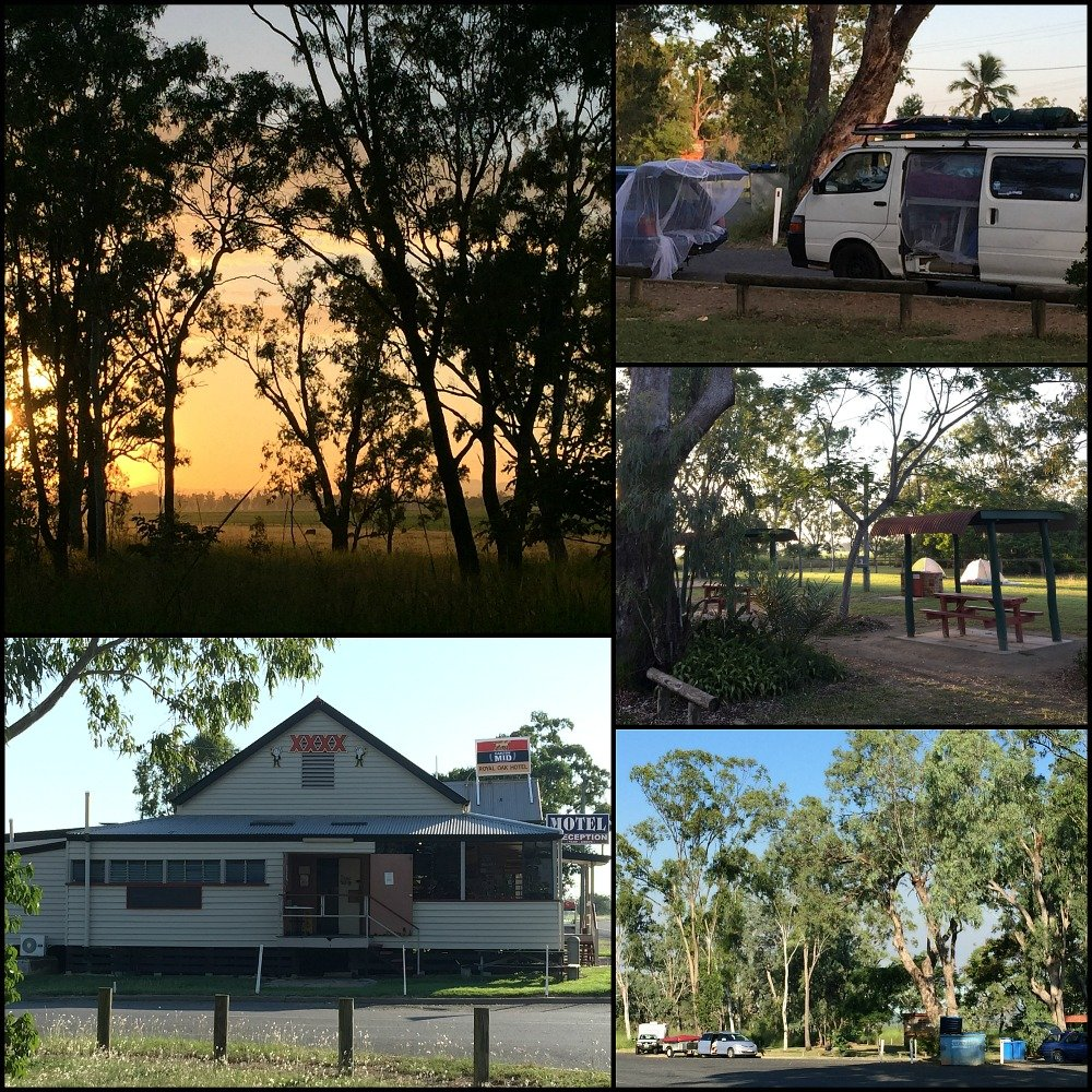 Yaamba Rest Stop in Queensland north of Rockhampton