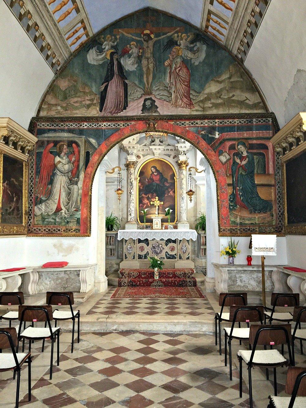 Piran Church of Madona della neve