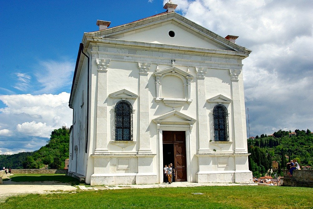 Piran Church of St. George Exterior