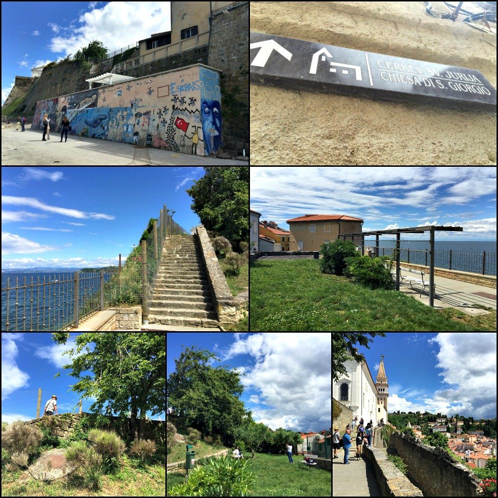 Piran Walk to St. George's Church