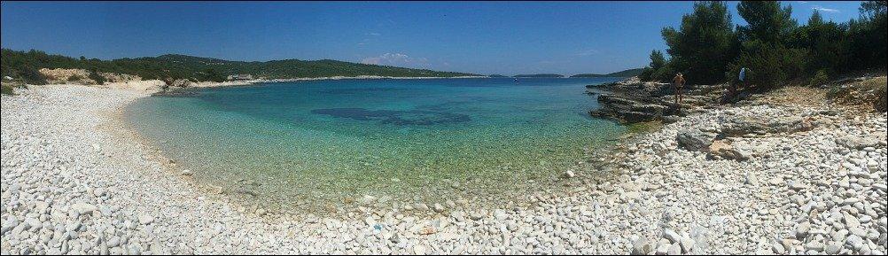 Srebrna Beach Vis Island Croatia