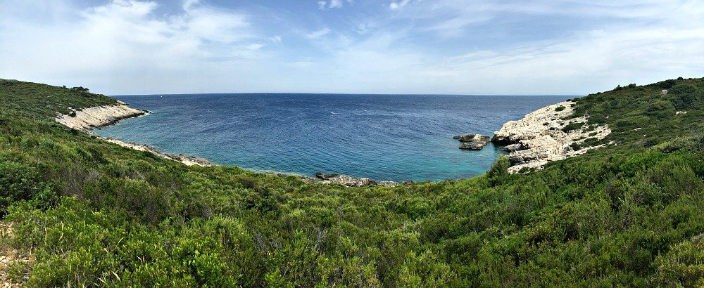 Vis Island Panorama