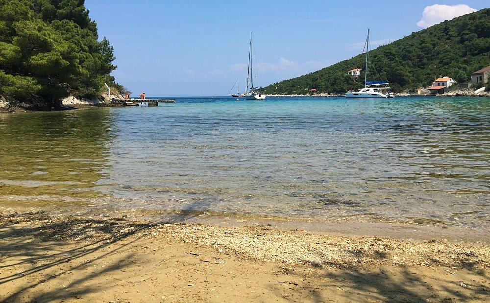 Stoncica Beach Vis Island Croatia