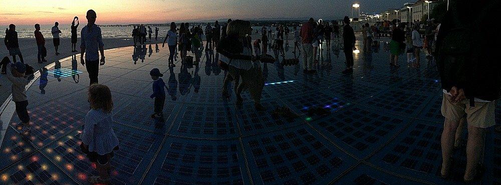 Zadar Sun Salutation Panorama