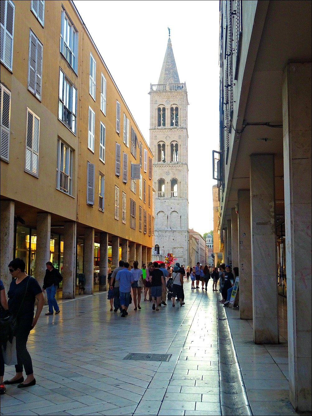 Zadar mix of buildings