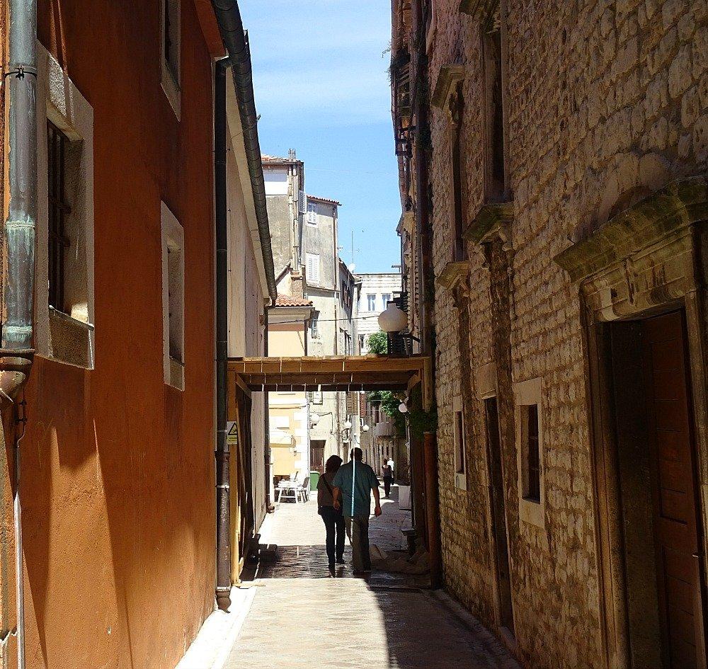 Zadar street scene