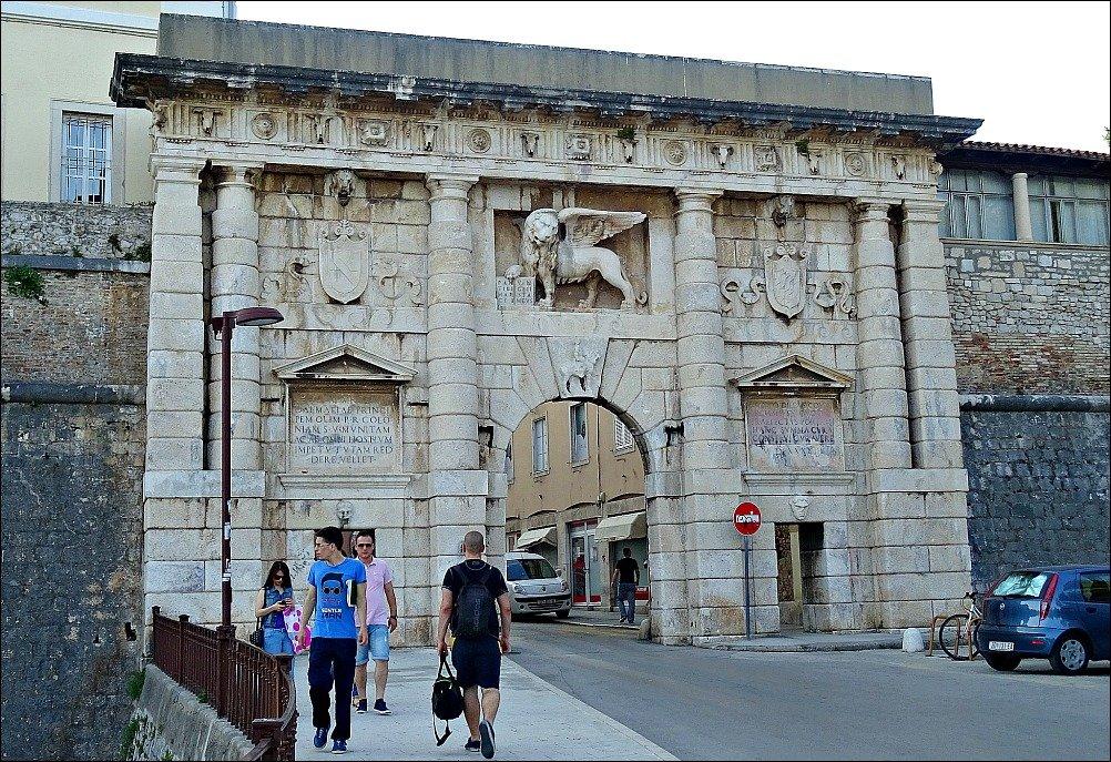 Zadar's Landward Gate