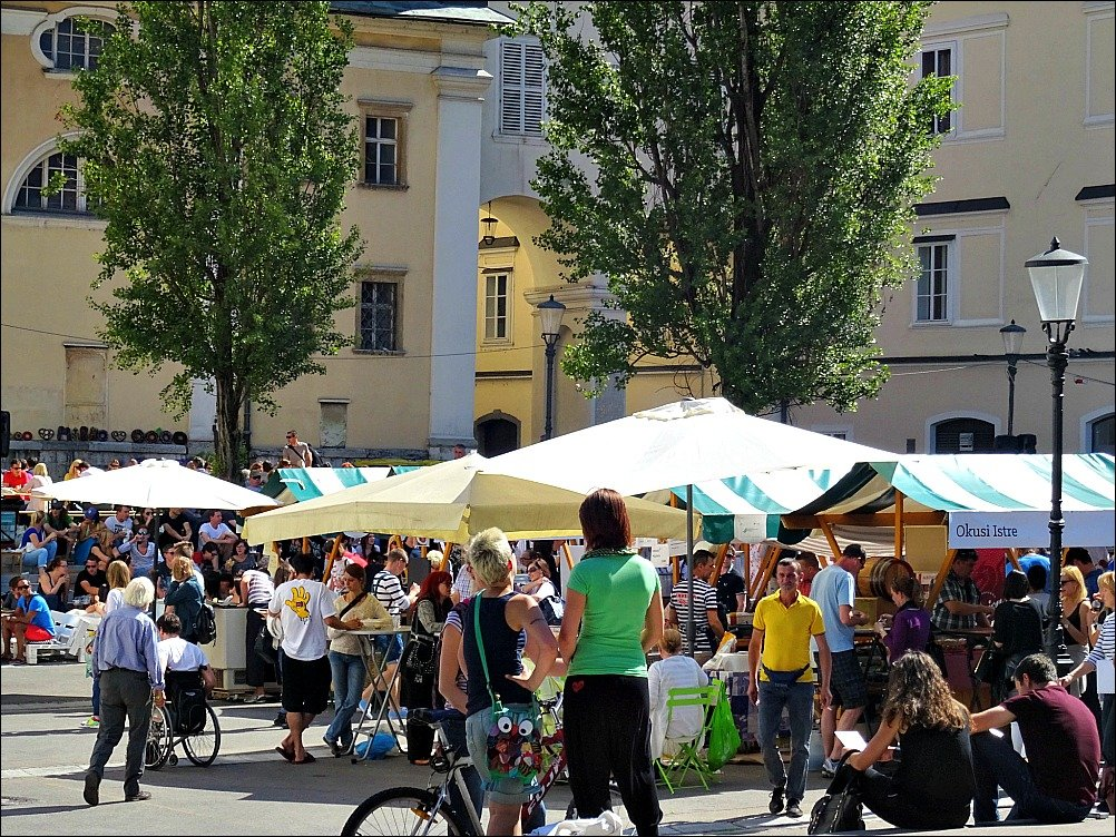 Ljubljana Friday food festival