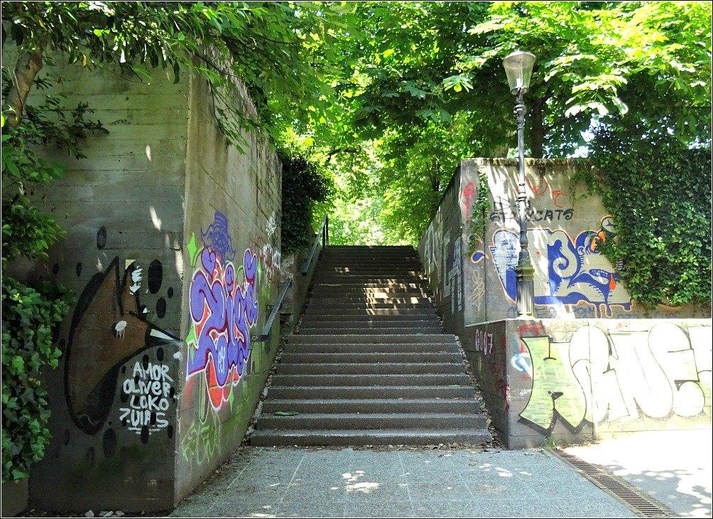 Tivoli Park Stairs Ljubljana