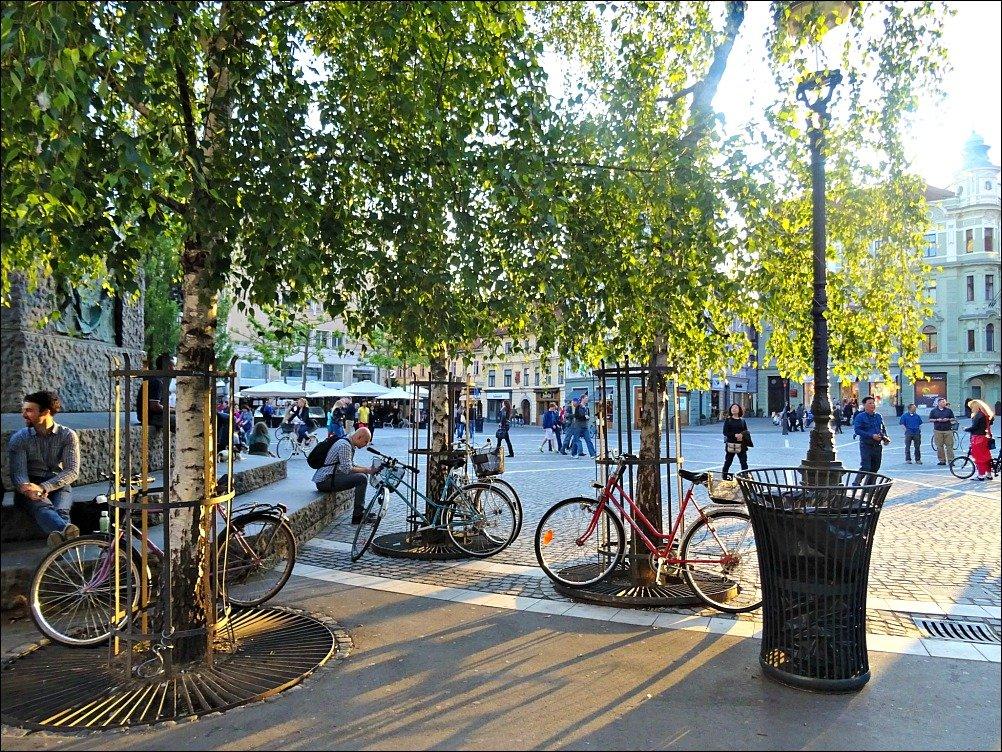Ljubljana University Town Bicycles
