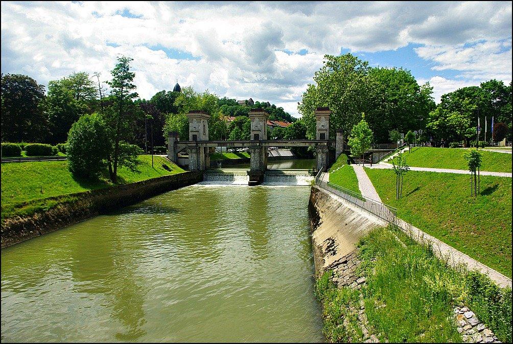 Ljubljanica River Sluice