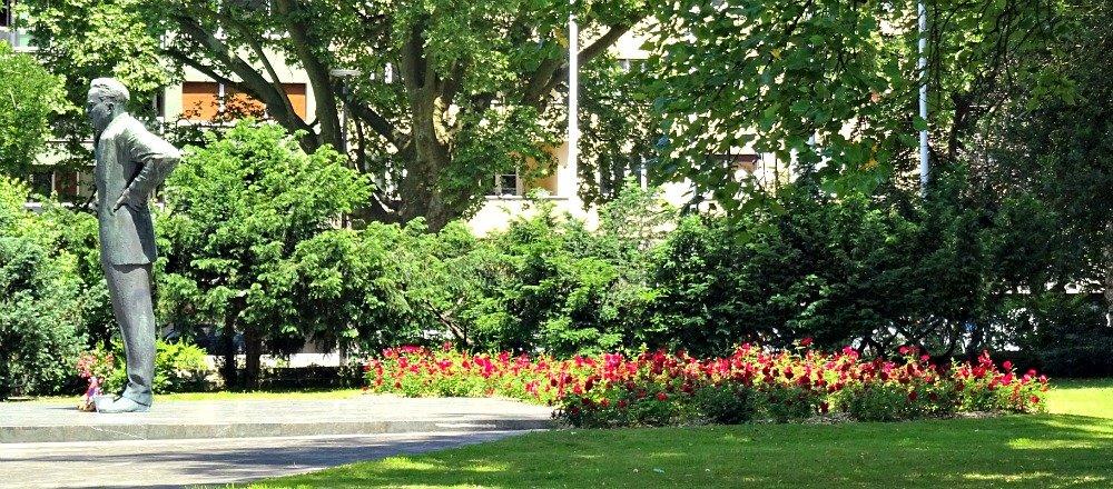 Rose Garden Tivoli Park Ljubljana