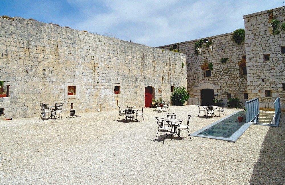 Vis Island Fort George Inside the Walls