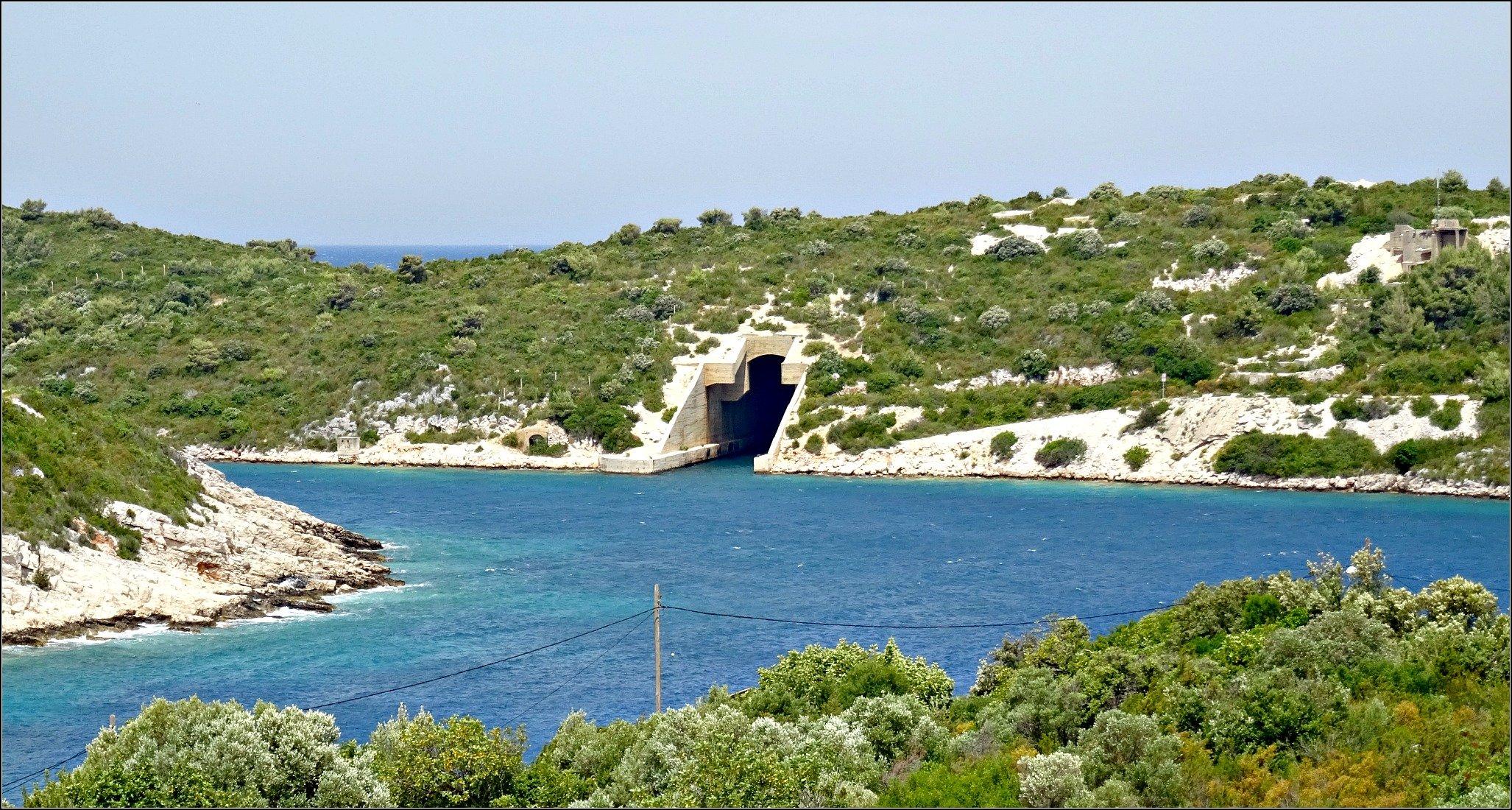 Vis Island Rogaccic Submarine Pen