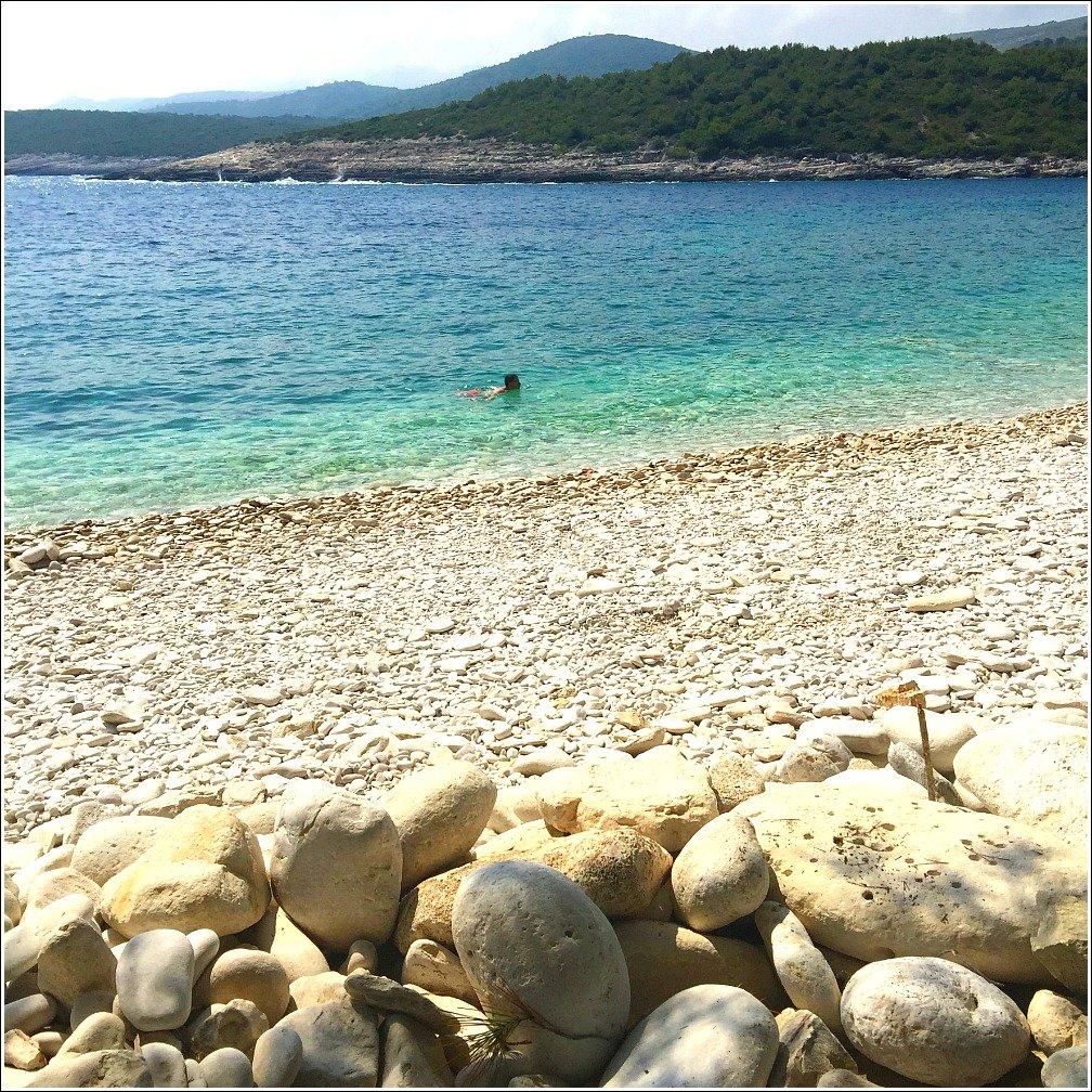 Vis Island Srebrna Beach
