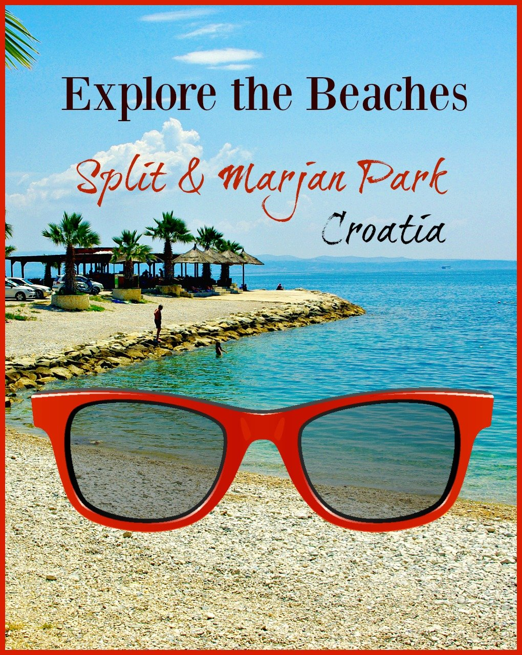 Explore the Beaches of Split and Marjan Park Croatia