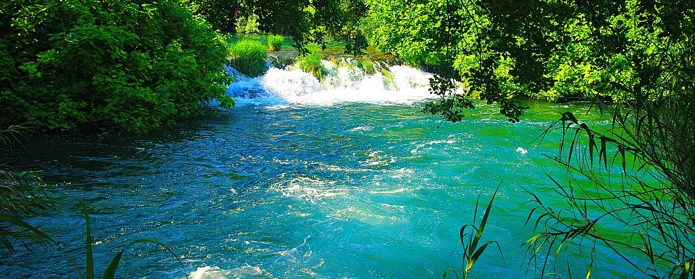 Krka National Park Croatia Blue Pool
