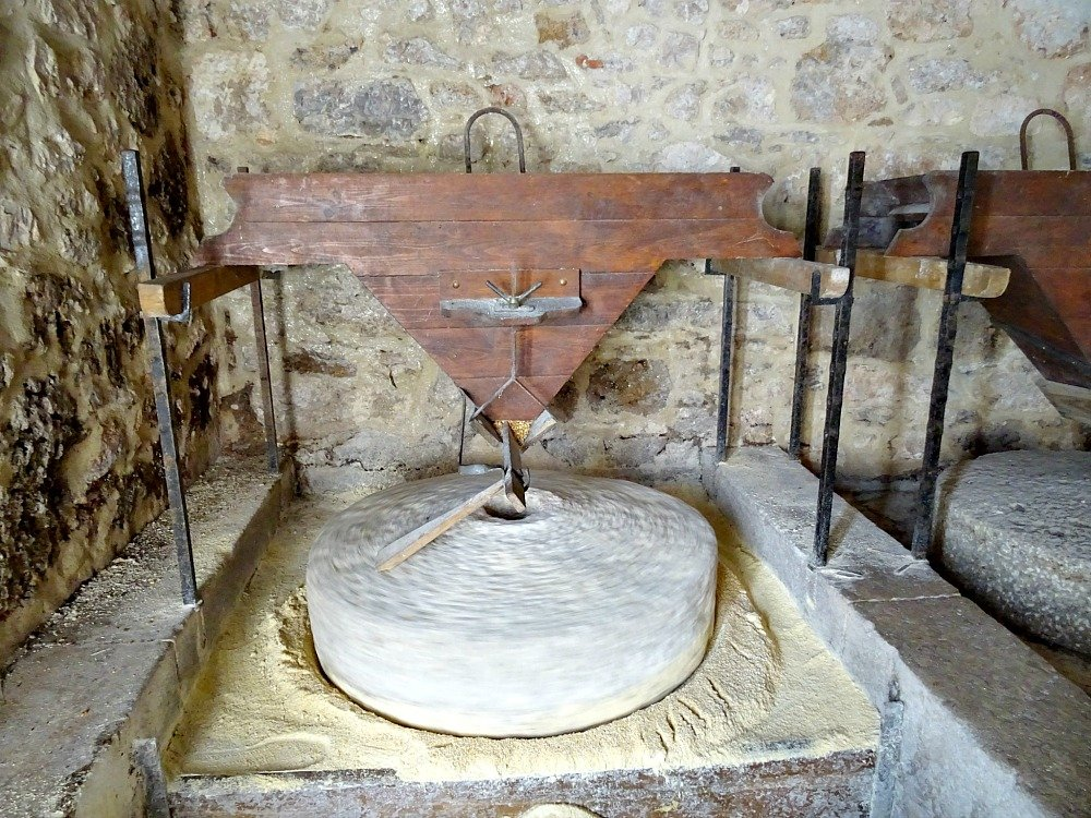 Grinding Flour at Krka National Park Croatia
