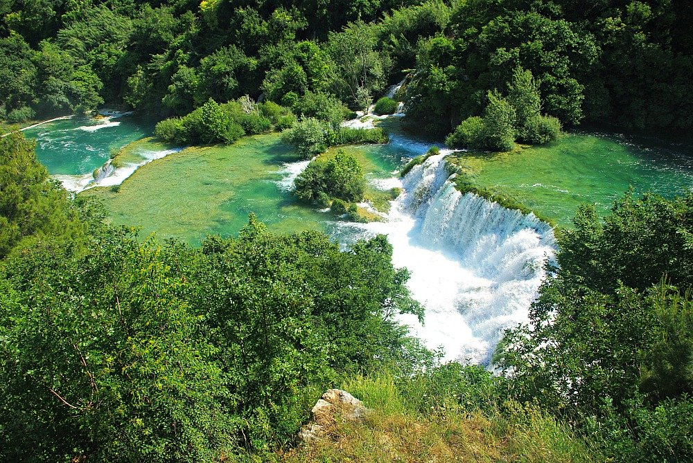 Krka Midstream Travertine