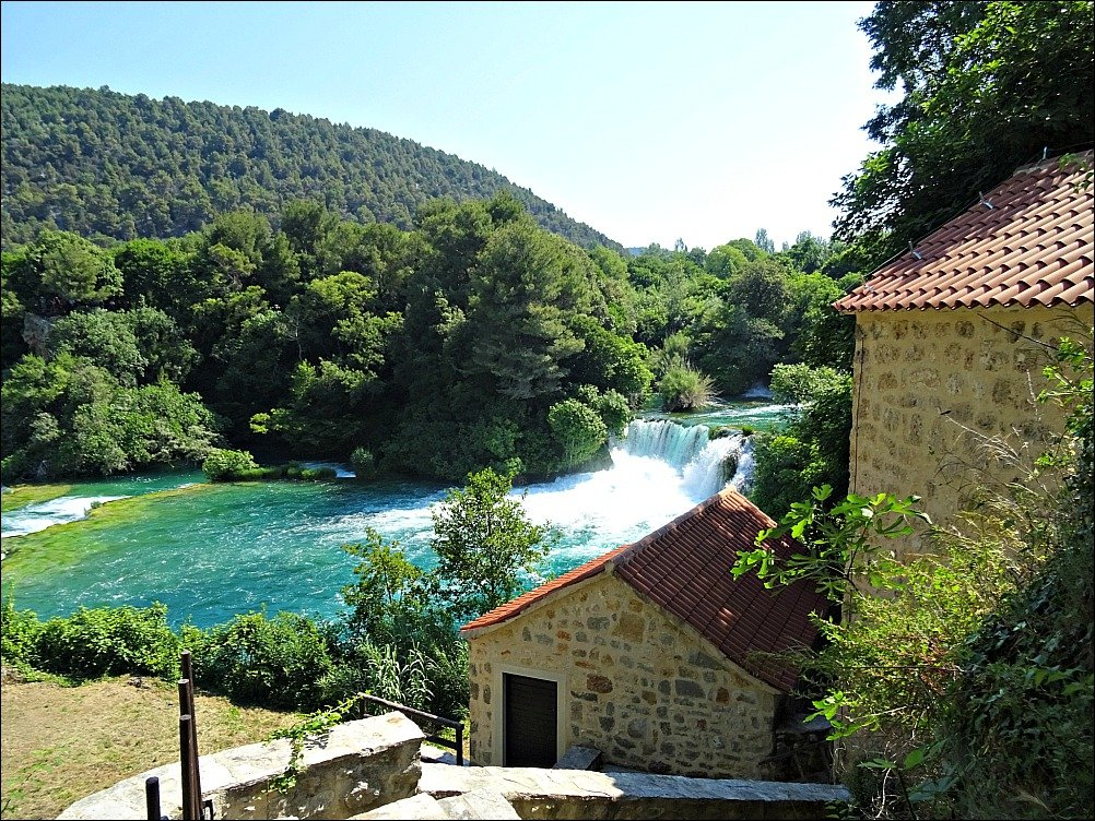 The Mill buildings Krka National Park