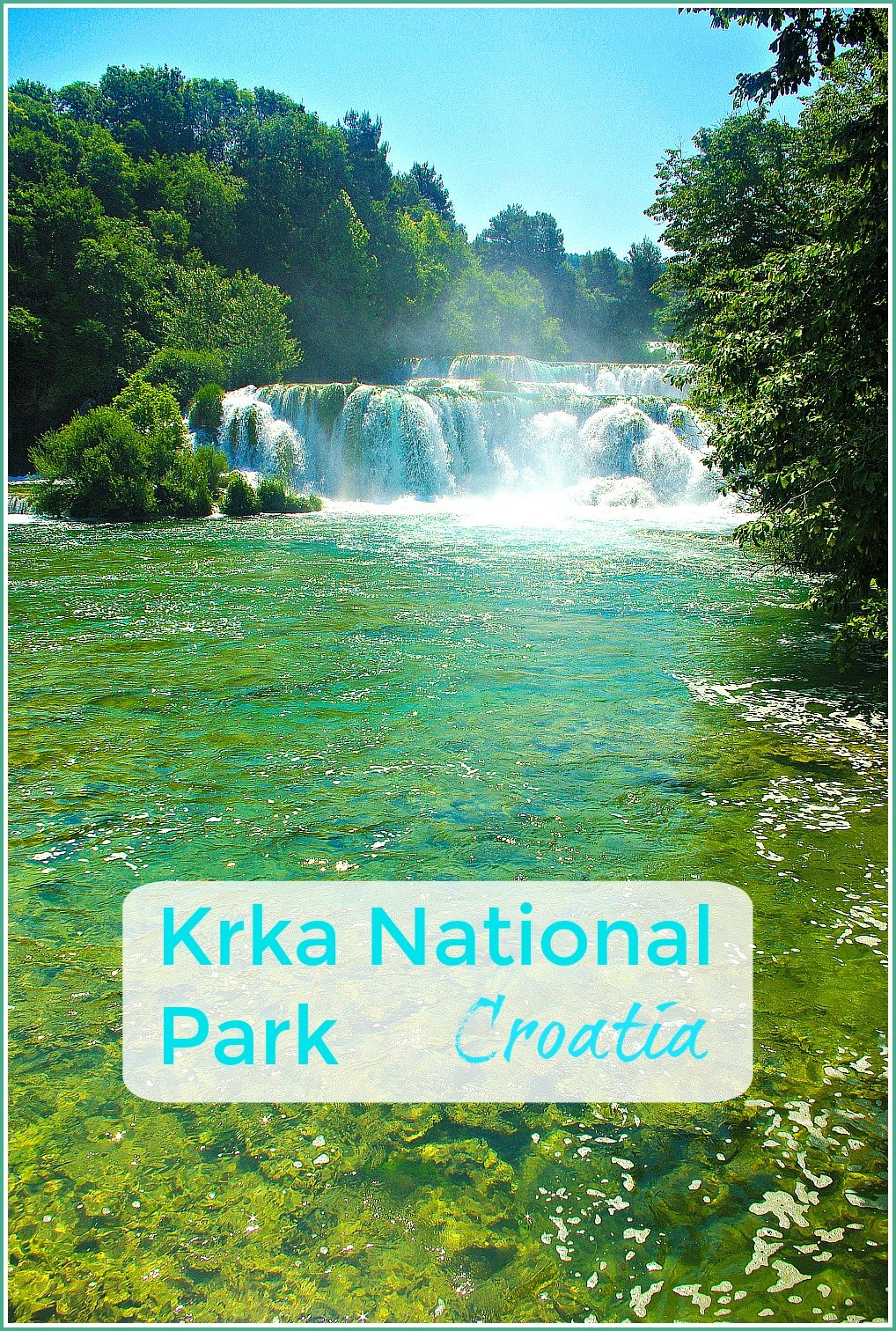 Krka National Park in Croatia rivals Plitvice Lakes