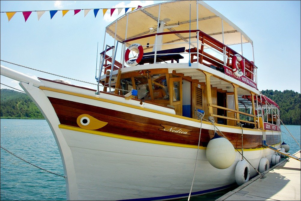 Krka River Boat