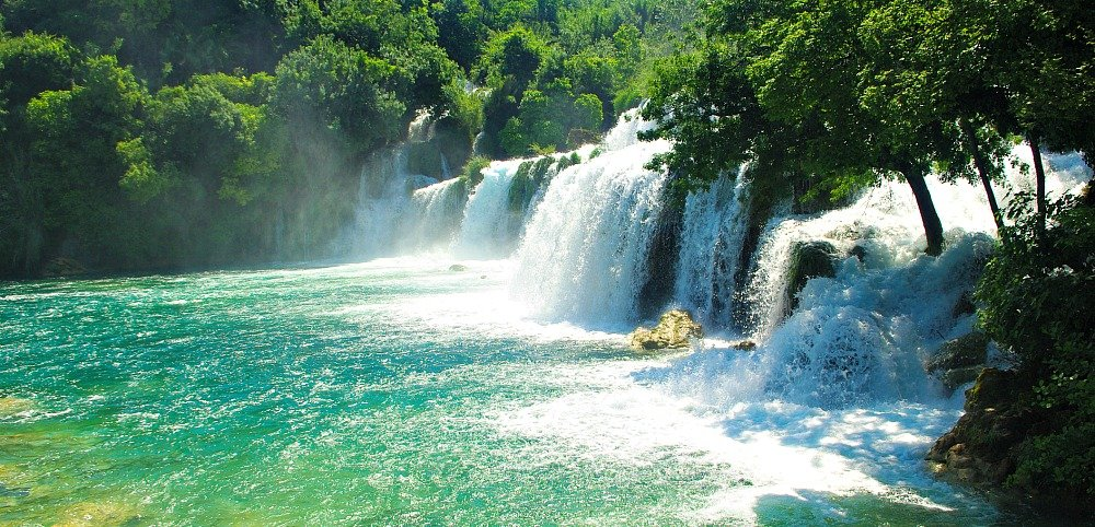 Krka National Park Croatia Skradinski Buk Waterfall