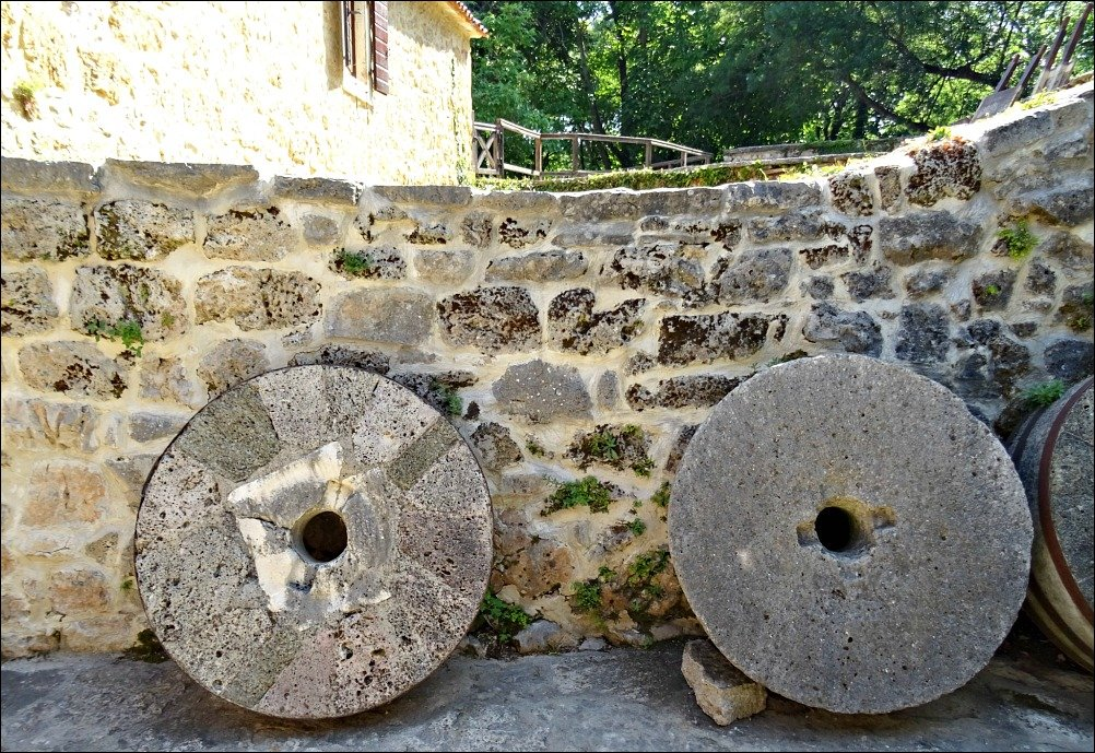 Krka National Park Stone Grinding Wheels