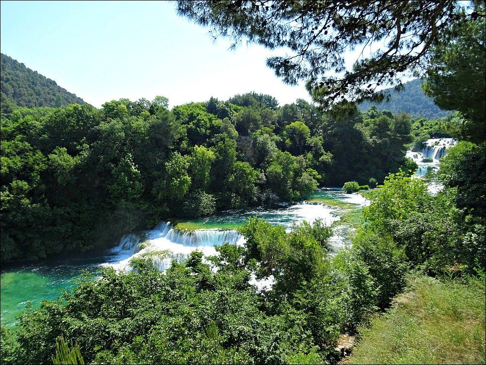 Krka National Park Travertines