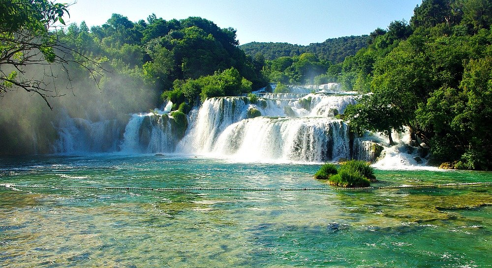 Krka National Park Skradinski buk Waterfall