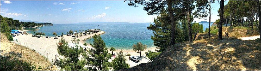 Marjan Peninsula Panorama