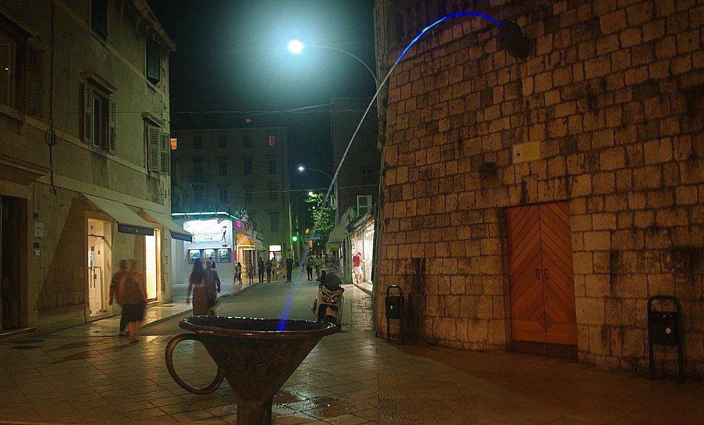 Split Art Installation Marmontova Street