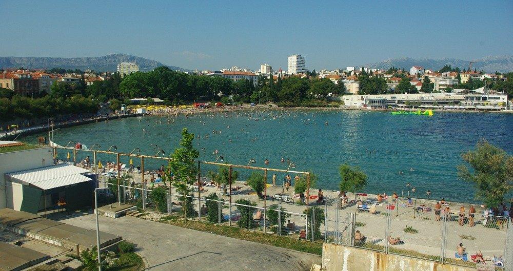 Bacvice Bay Split Croatia