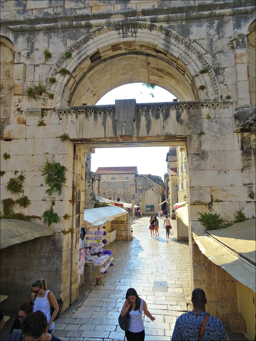 Diocletian Palace East Gate Split Croatia
